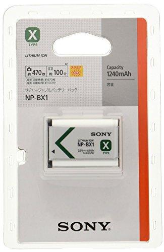 SONY リチャージャブルバッテリパック Xタイプ NP-BX1
