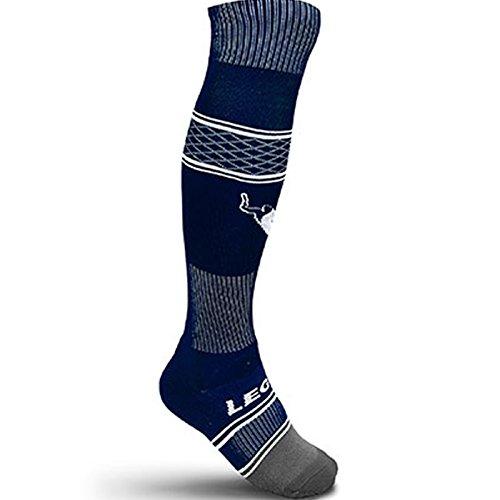 Zeus calza Kenya sport calzini da calcio, pallavolo, pallacanestro allenamento Match unisex, Donna uomo Bambino, C166, Blue, 3