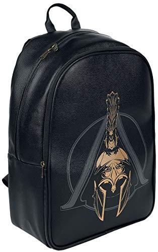 Assassins Creed Assassin'S Creed Odyssey Logo Premium Backpack, Unisex, Black (Bp147866Aco) Mochila Tipo Casual 41 Centimeters Negro (Black)