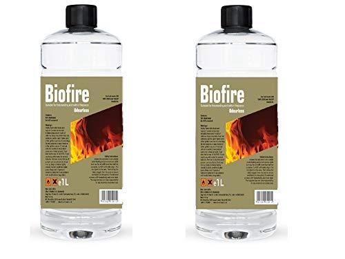 Premium BIOETHANOL Fuel for Fires, Bio Ethanol Liquid Fuel for bioethanol Fires (2 Litre)