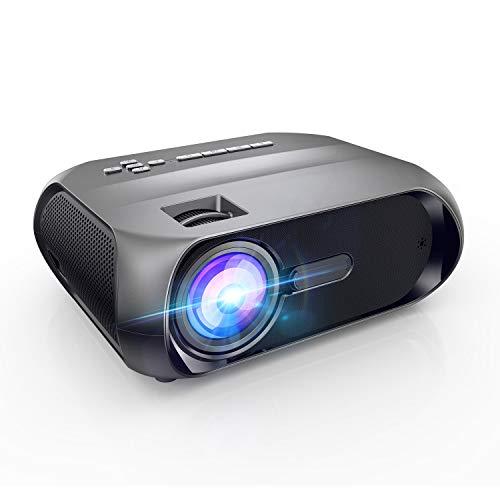 Proiettore WiFi, Videoproiettore Portatile da Esterno, BOMAKER 5500 Lumens Nativo 720P Supporto Full HD 1080P, Mirroring...