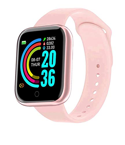 LEBROMI Smart Watch Fitness Trackers with Heart Rate Monitor Step Calorie Counter Sleep Monitor, Waterproof Smartwatch 1.3' Touch Screen, Activity Tracker Pedometer for Women and Men…