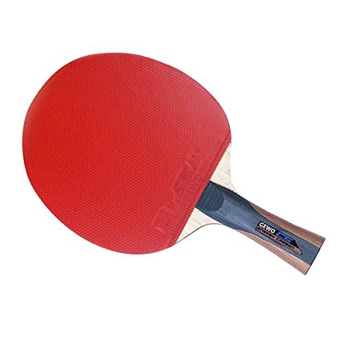 GEWO Erwachsene Schläger CS Energy Carbon konkav/Entwickelt von Christian Süß Tischtennisschläger, Grau/Braun