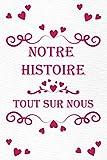 Notre Histoire | Tout Sur Nous: Le livre qui raconte votre histoire d'Amour |...