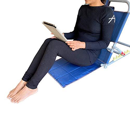 Primage Hospital/Floor Adjustable Back Rest For Use On Bed - Powder Coated