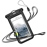 防水ケース スマホ用 iPhone Android 携帯 に対応 IPX8 水中 撮影 タッチ可 指紋 顔認証 風呂 水泳 釣り 海 プール 旅行 雨