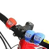 TOPZONE Vélo étanche LED feu arrière extérieur Nuit équitation vélo sécurité Avertissement Lampe (Rouge)