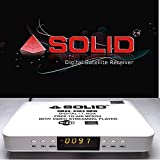 Mpeg-4 HD SOLID-6363 Set-Top-Box for Free to Air Channels
