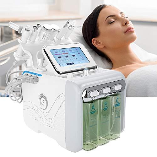 6 IN 1 Oxygen Water Sprayer, Hydrogen Oxygen Beauty Machine Deep Cleaning Skin Rejuvenation Machine(US Plug)
