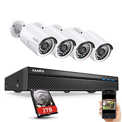 Cámaras de vigilancia con infrarrojos