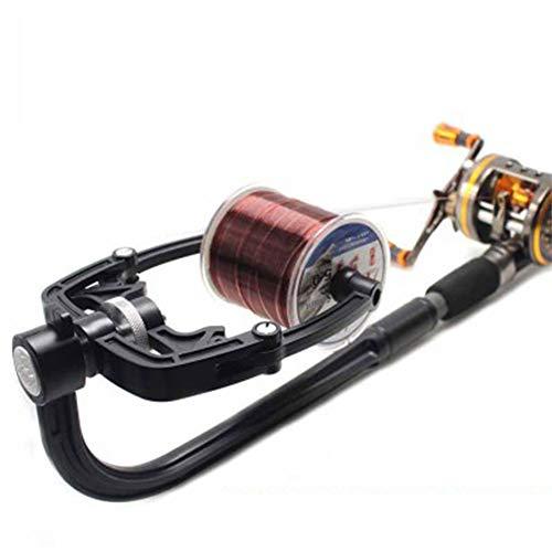 Fishing Line Spooler Portable Fishing Spooling Station Winder System Fishing Reel Spool Line Winder...