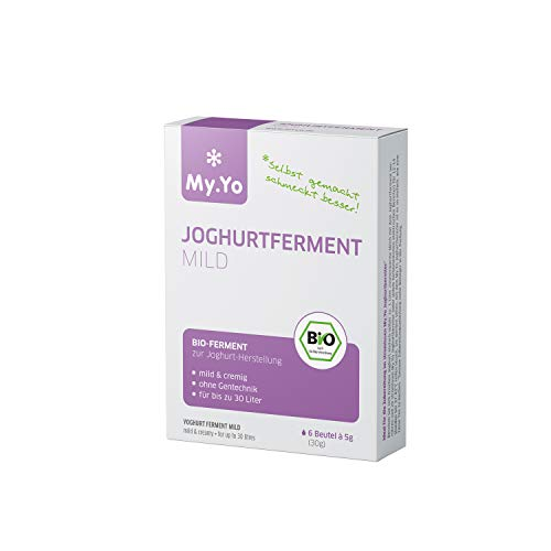 My.Yo – fermentación de yogur orgánico, 6 x 5 g, ferment