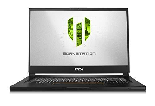 MSI WS65 9TK-687 15.6' FHD Thin and Light Mobile Workstation Intel Core i9-9880H Quadro RTX 3000 32GB 1T Nvme SSD Win10 Pro TPM2.0 TB3 Fingerprint