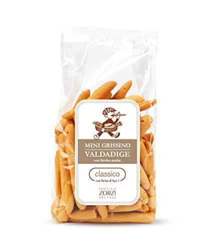 Panificio Zorzi - Mini Grissino Valdadige CLASSICO con olio extravergine di oliva - pacco 8 confezioni da 200 g (8)