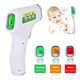 EEFRVDFFDE Forehead Thermometer-No Touch Forehead Thermometer Strips for Adults, Kids, Baby, Random Color (One Size, Random Color)