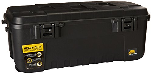 Plano Storage Trunk - 108 Quart w/ Wheels (1919) - Black