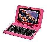 Tablette Tactile Ecran 7 Pouces, Tablet PC avec Clavier(AZERTY) Android...