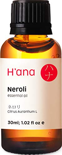 Ätherisches Neroli Öl (30ml) - 100% rein und zur therapeutischen Anwendung, zur Behandlung der Haut und für den Aroma Diffusor