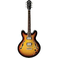 Oscar Schmidt OE30 Semi-Hollow Electric Guitar Review