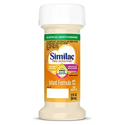 BRAND FOR IMMUNE SUPPORT: Similac Pro-Sensitive is the first infant formula for sensitive tummies with 2'-FL HMO; (Based on Pediatrician Recommendations & IQVIA ProVoice Survey 12 months ending February 2020; not from human milk) FOR SENSITIVE TUMMIE...