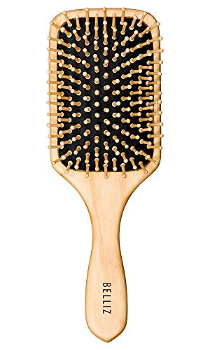Belliz, Escova Mad Racket com Cerdas de Madeira