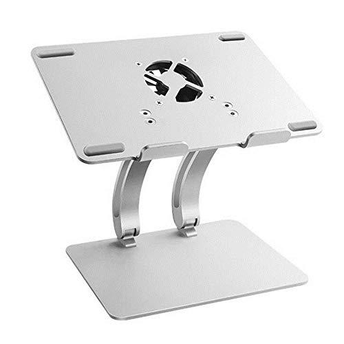 MNDR Ampio Supporto per Laptop Regolabile con Ventola di Raffreddamento hub USB, Supporto per Tablet...