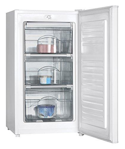 Electroline SDFE-09H Libera installazione Verticale 60L A+ Bianco congelatore