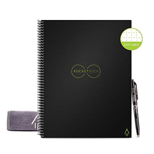 Rocketbook Cuaderno Digital Inteligente Core Diario Reutilizable...