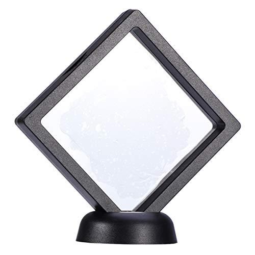 BESPORTBLE 3D-Floating-Frame-Displayständer 5-Teilige Münzvitrine - Schwebender Effekthalter zum Anzeigen von Schmuck Medaillen Exemplaren Und Herausforderungsmünzen