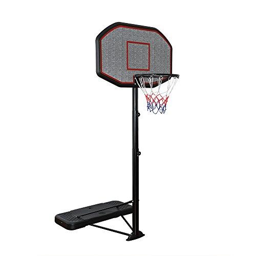 Display4top Regolabile 200-305 cm, canestro da Basket Net System su Ruote