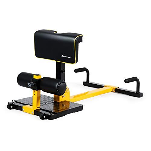 Goplus Deep Squat Machine, 8-in-1 Sissy Squat Fitness Equipment...