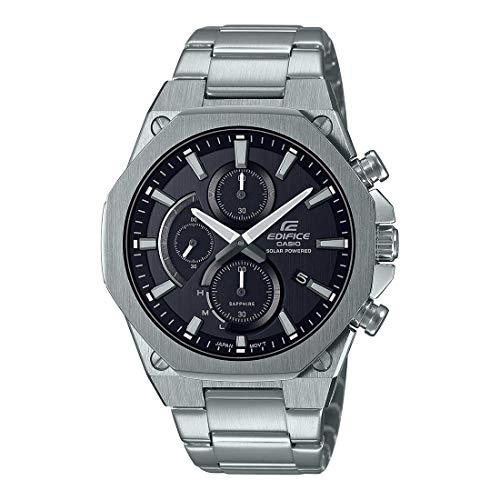 Casio Edifice Analog Black Dial Men's Watch-EFS-S570D-1AUDF