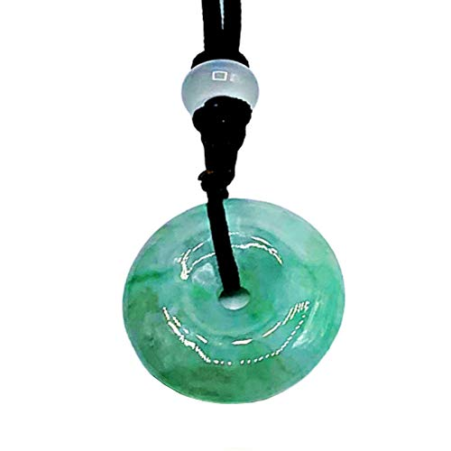 Cuckoo Natural Jade Necklace Pendant | Certified 100% Grade...