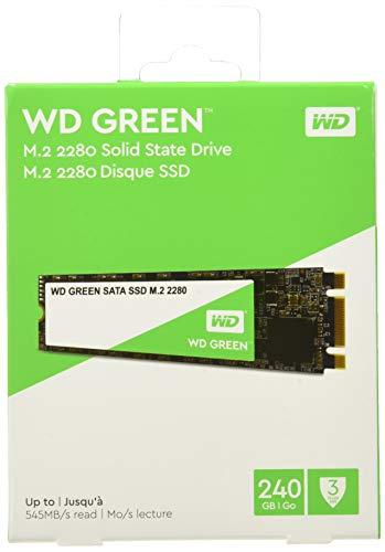 Western Digital WD Green - Internal SSD M.2 SATA, 240 GB - WDS240G2G0B