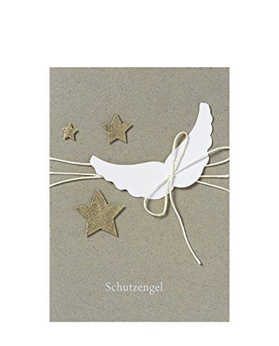Räder Zen Taufkarte Schutzengel