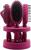 True Face Unisex Grooming Hair Brush Set Pink
