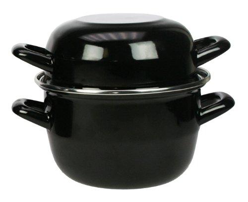 TheKitchenette - Marmite à Moules en Acier Émaillé 2.7 L (Cuisine)