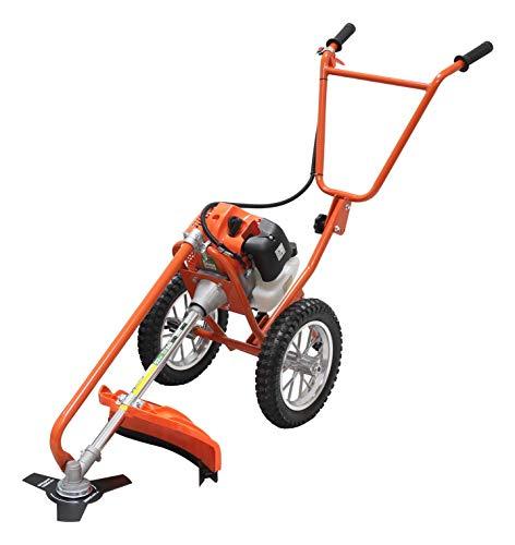 Mader Decespugliatore con ruote, manico doppio, 52 cc x 26 mm x 69330