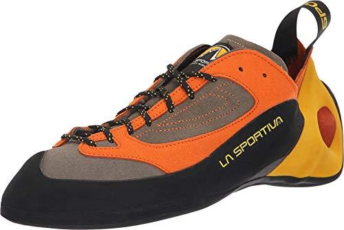 La Sportiva Finale Climbing Shoe, Brown/Orange, 43.5