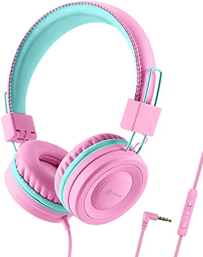 Auriculares para Niños, iClever Auriculares con Cable para...