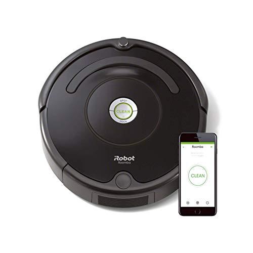 iRobot Roomba 671 Robot aspirapolvere WiFi, Adatto a tappeti e Pavimenti, Tecnologia Dirt Detect, Sistema 3 Fasi, 58 dB,...