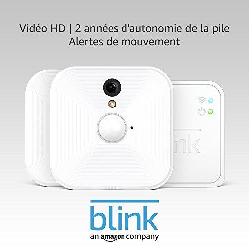 41OVzdHNMWL Blink - Système de sécurité à domicile (intérieur) (1e génération) avec détection de mouvement, vidéo HD, 2 années ...