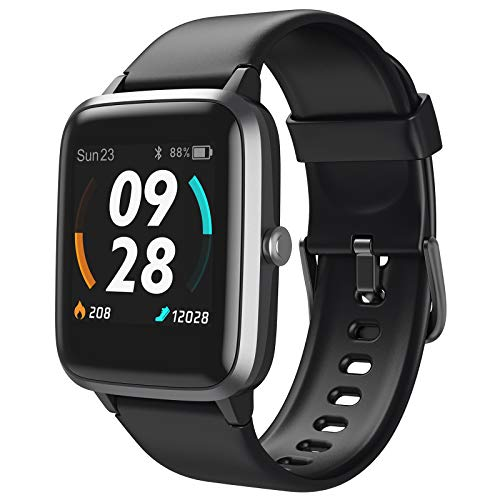 LETSCOM Smart Watch, GPS Running Watch Fitness Trackers with...