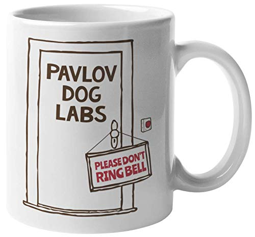 Pavlov Dog Labs. Please Don't Ring Bell. Funny Psychology...