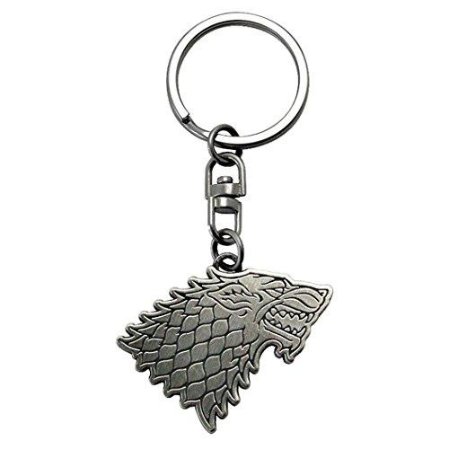 Game Of Thrones Llavero Escudo de Armas Casa Stark