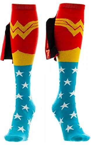 CID Wonder Woman - Calzini da uomo, multicolore, taglia unica