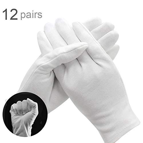 guanti di cotone bianchi,guanti lavoro bianchi,guanti lavoro cotone,guanti per Ispezione...
