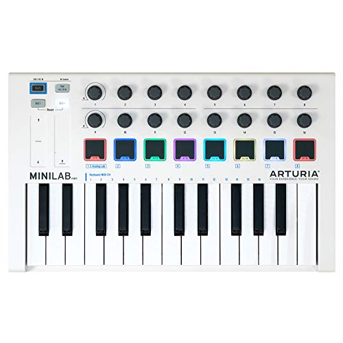 ARTURIA MIDI キーボードコントローラー MiniLab Mk II