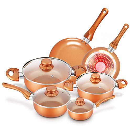 Cookware-Set Nonstick Pots and Pans-Set...