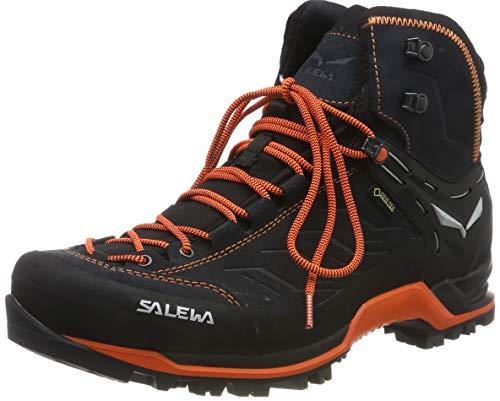 Salewa Herren MS MTN Trainer MID GTX Trekking-& Wanderstiefel, Grau (Asphalt/Fluo Orange 985), 44 EU